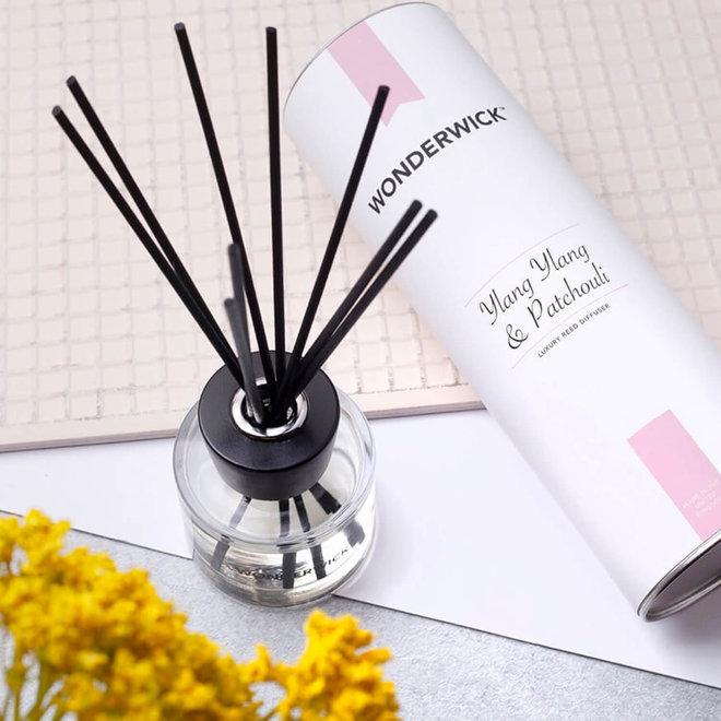 fragrance sticks Ylang Ylang Patchouli white