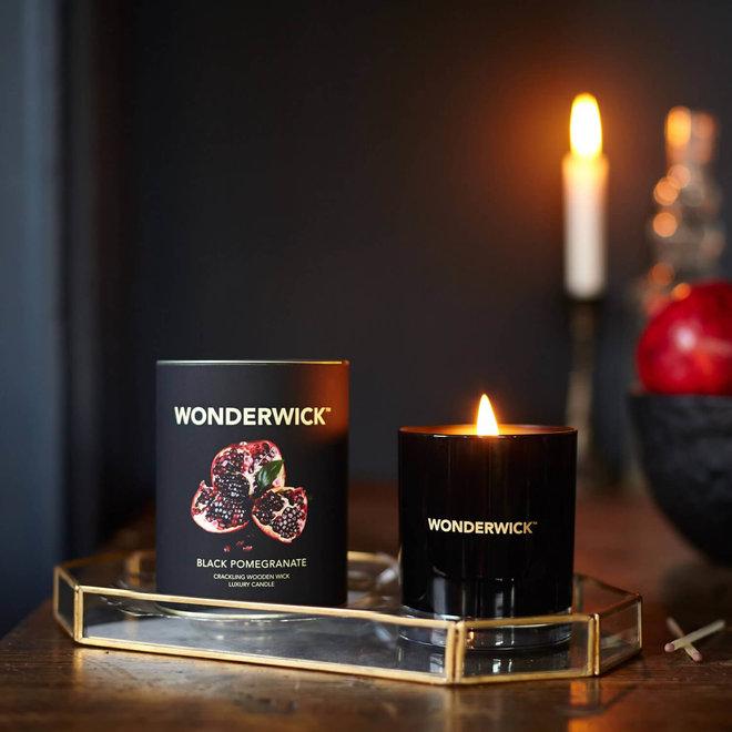 Black Pomegranate kaars zwart
