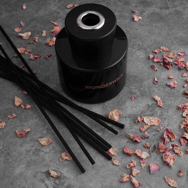 geurstokjes Amber Lavender zwart