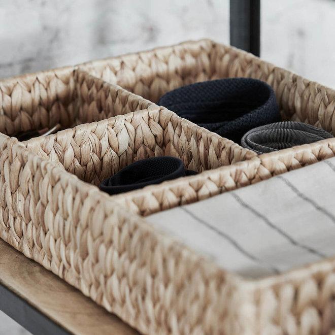 basket store 4 compartments 50cm