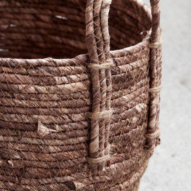 basket Arran red-brown set