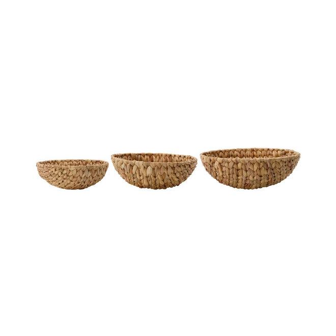 baskets Bow natural set 30cm