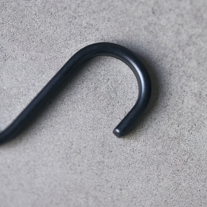 Hook Snap small black set of 6