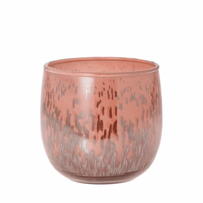 Sfeerlicht Belle roze 9cm
