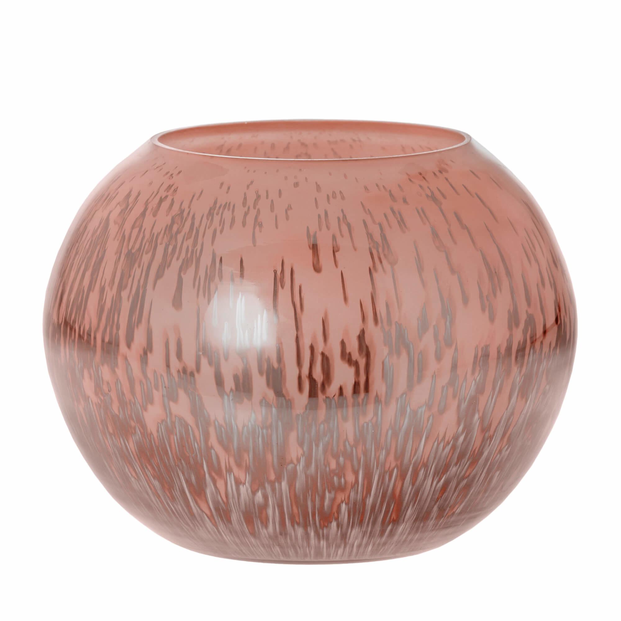 Sfeerlicht Belle roze 16cm