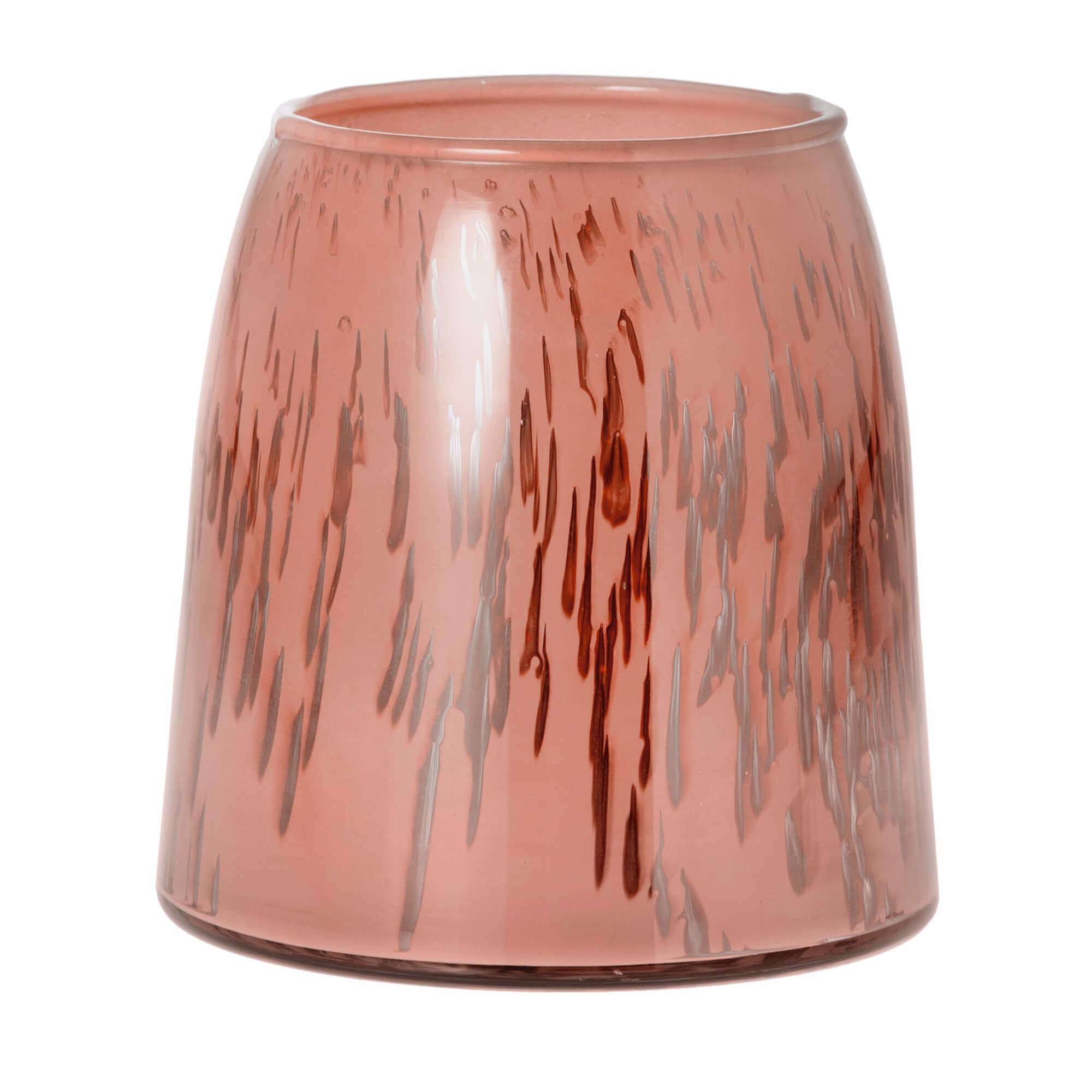 Sfeerlicht Belle roze 13cm