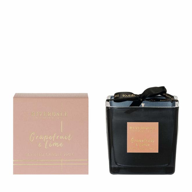 Geurkaars Deluxe roze klein