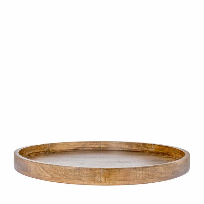 Schaal Sam naturel hout 60cm