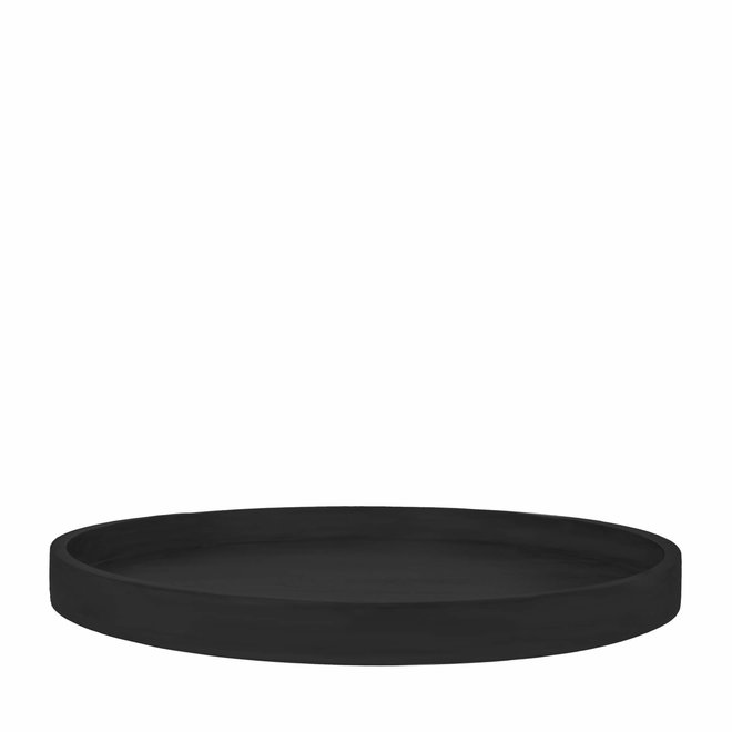 Schaal Lue zwart hout 60cm