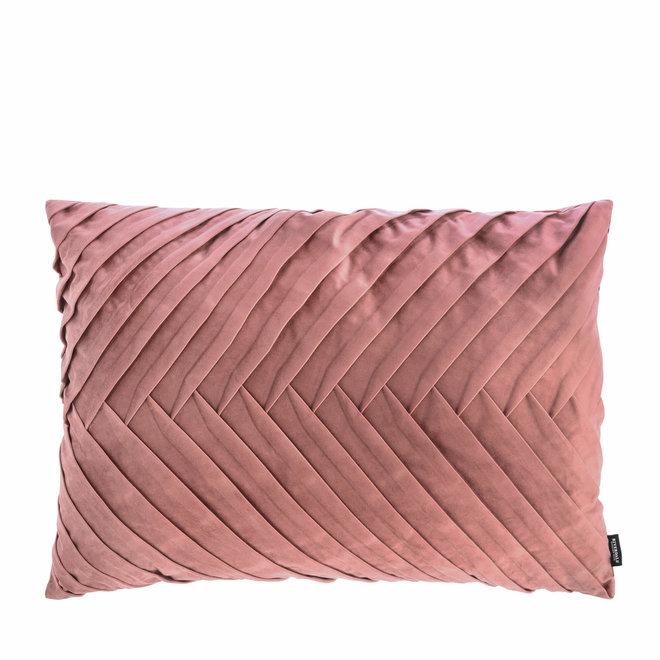 Kussen Emmy oud roze 50x70cm
