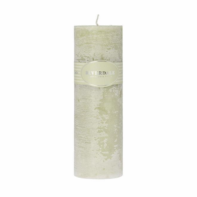 Geurkaars Pillar pistache 7,5x23cm
