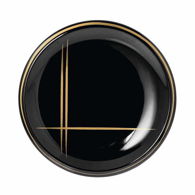 breakfast plate Suzie black