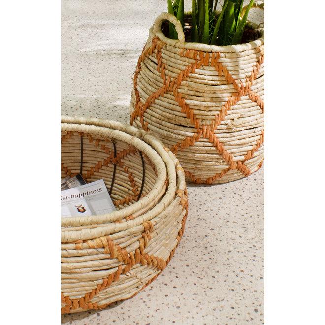 baskets set Nature 46cm