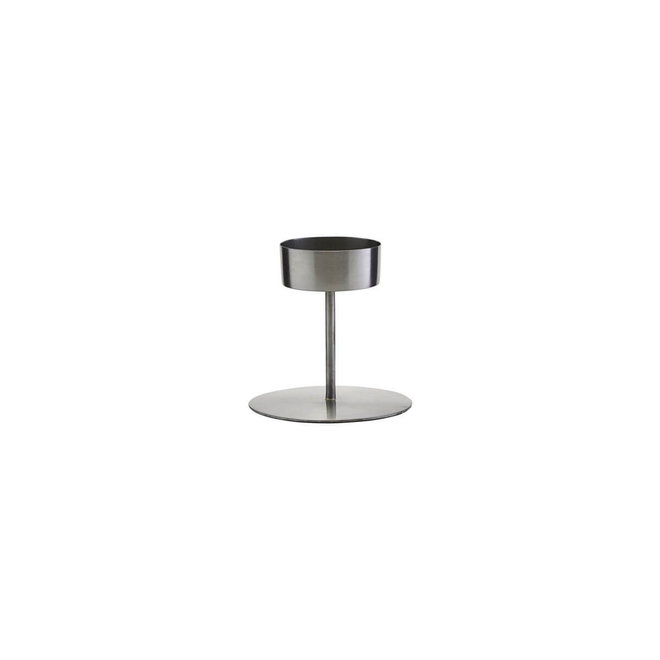 Kerzenhalter Anit Silber 10cm