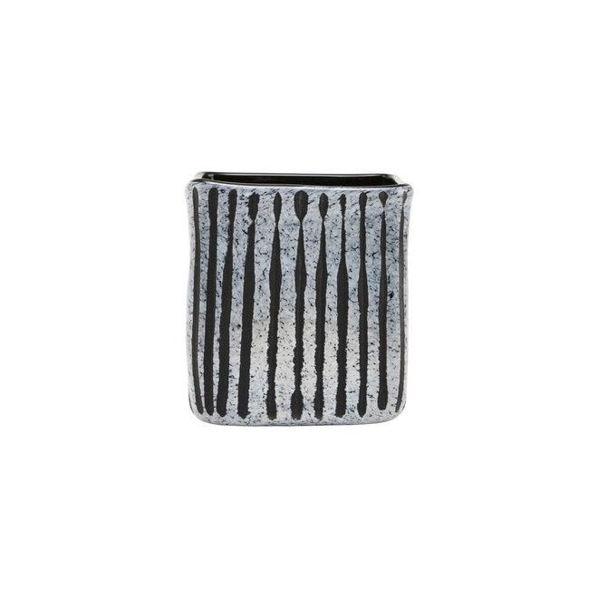 Bloempot Surat zwart 14cm