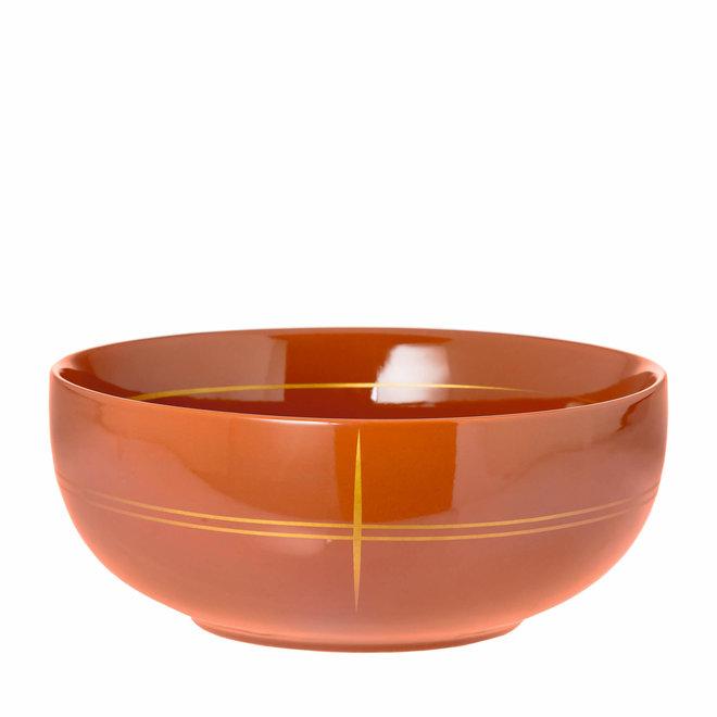 bowl Suzie brique large