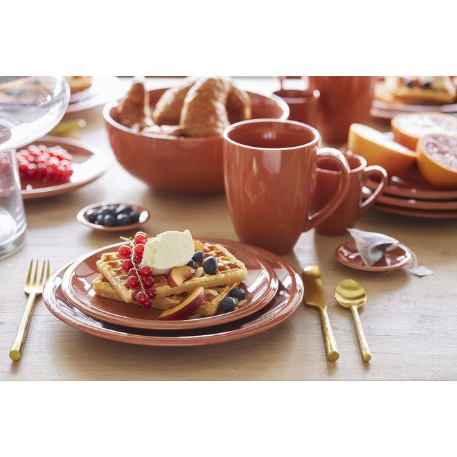 breakfast plate Suzie Brique