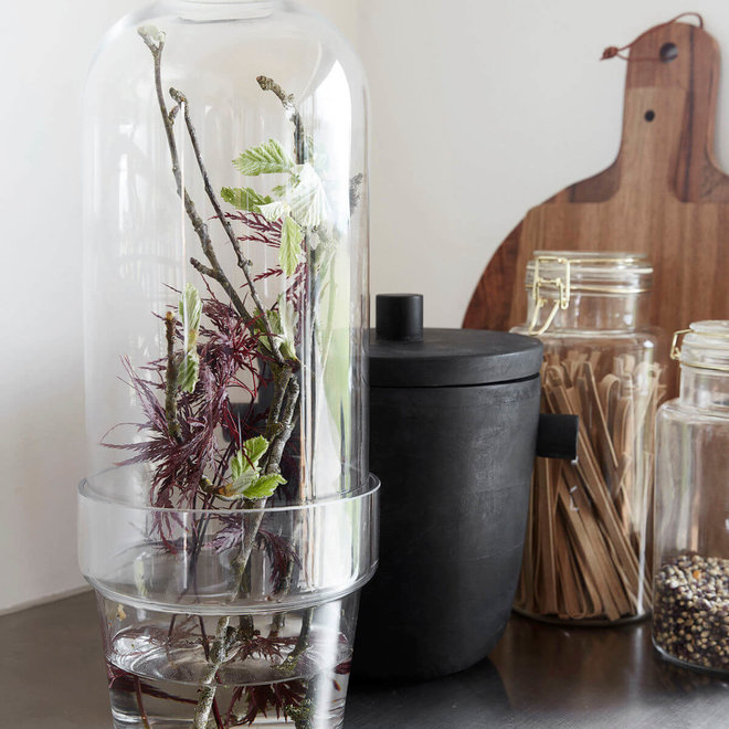 Glaskugelglas klar 35cm