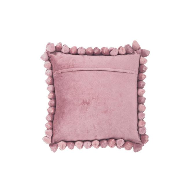 Kussen Pebble oud roze