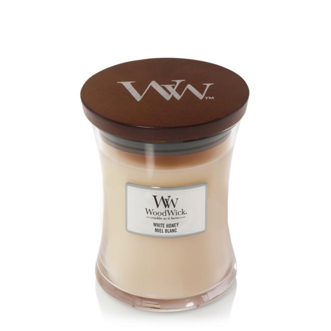 White Honey kaars medium