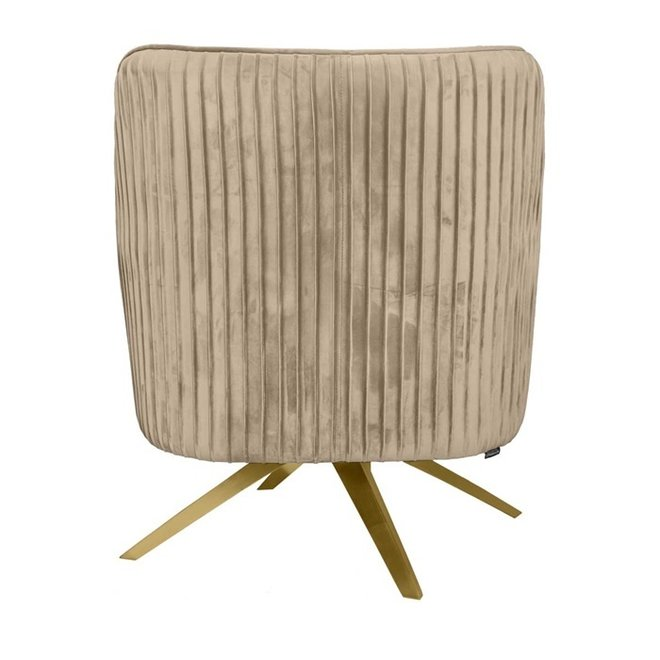 Fauteuil Maddy beige 86cm