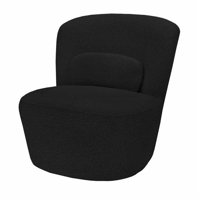 Armchair Teddy black 75cm