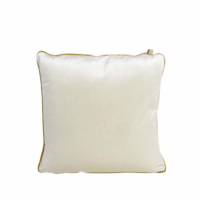 kussen studio Murano Pearl white 45x45cm
