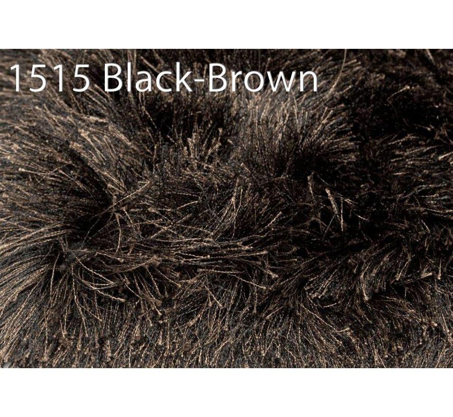 Brinker Carpets Tapis Gloss 1515 noir marron 200x300cm