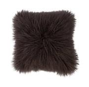 Haans Lifestyle Cushion wool sheepskin gray brown