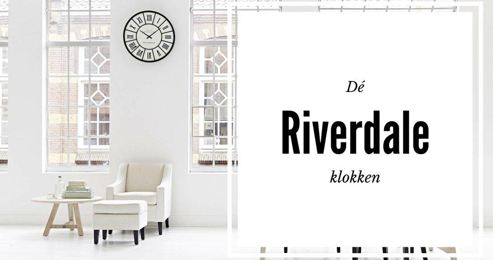 Waarom een Riverdale klok in ieder landelijk interieur past.