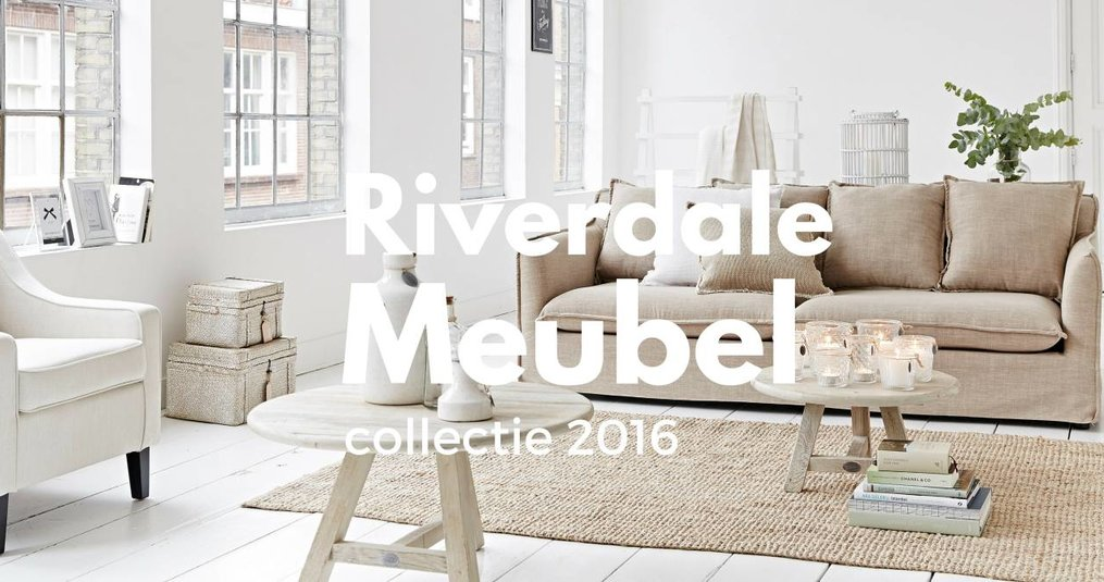 Het blog over de Riverdale meubel collectie.