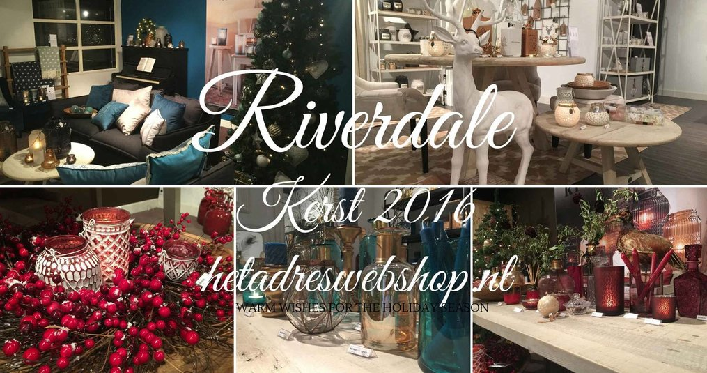 Riverdale kerstcollectie the christmas society