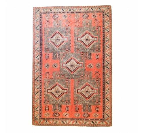 Brinker Carpets Vloerkleed Ikat 5 Square Olivia Rust 160x240cm