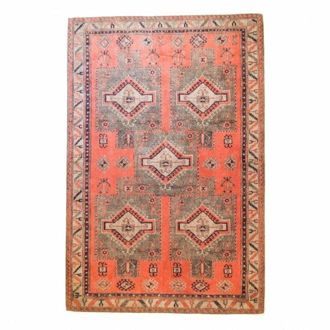 Teppich Ikat 5 Square Olivia Rust 160x240cm