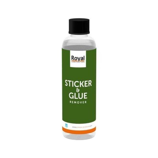 Sticker en lijm verwijder middel