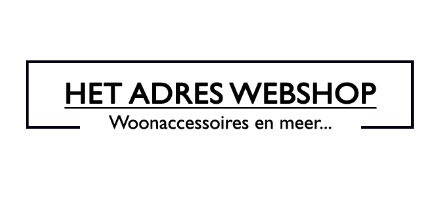 HetAdreswebshop is a online lifestyle shop.