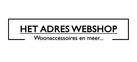 HetAdreswebshop is a online lifestyle shop.