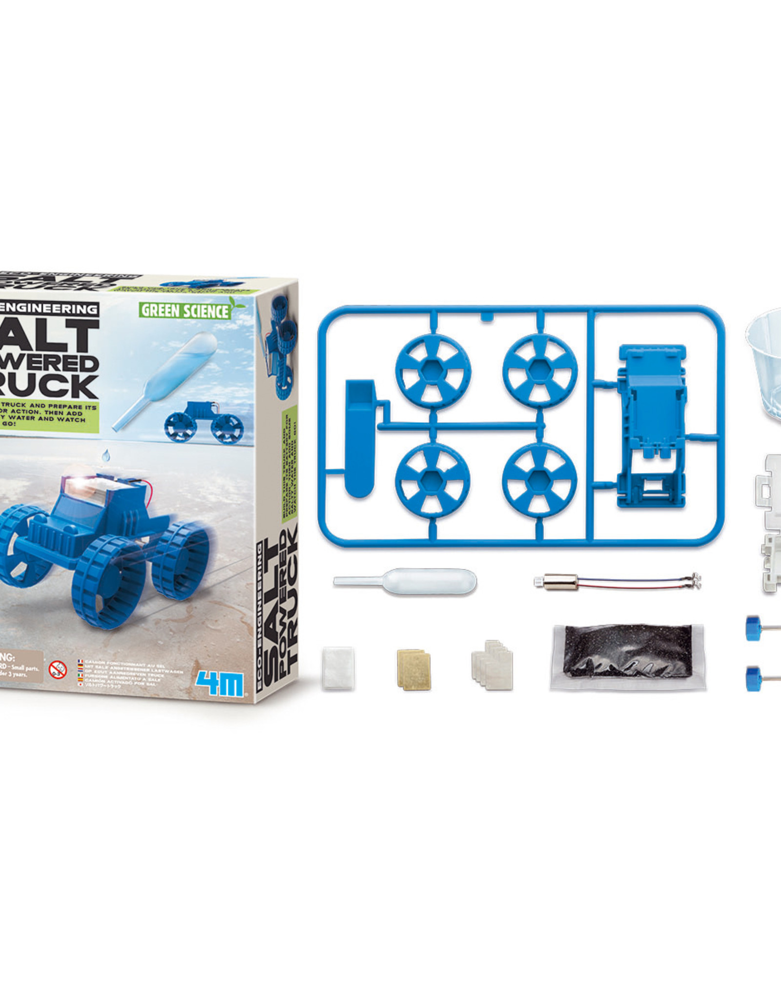 4M Kidzlabs GREEN SCIENCE - SALT-POWERED TRUCK
