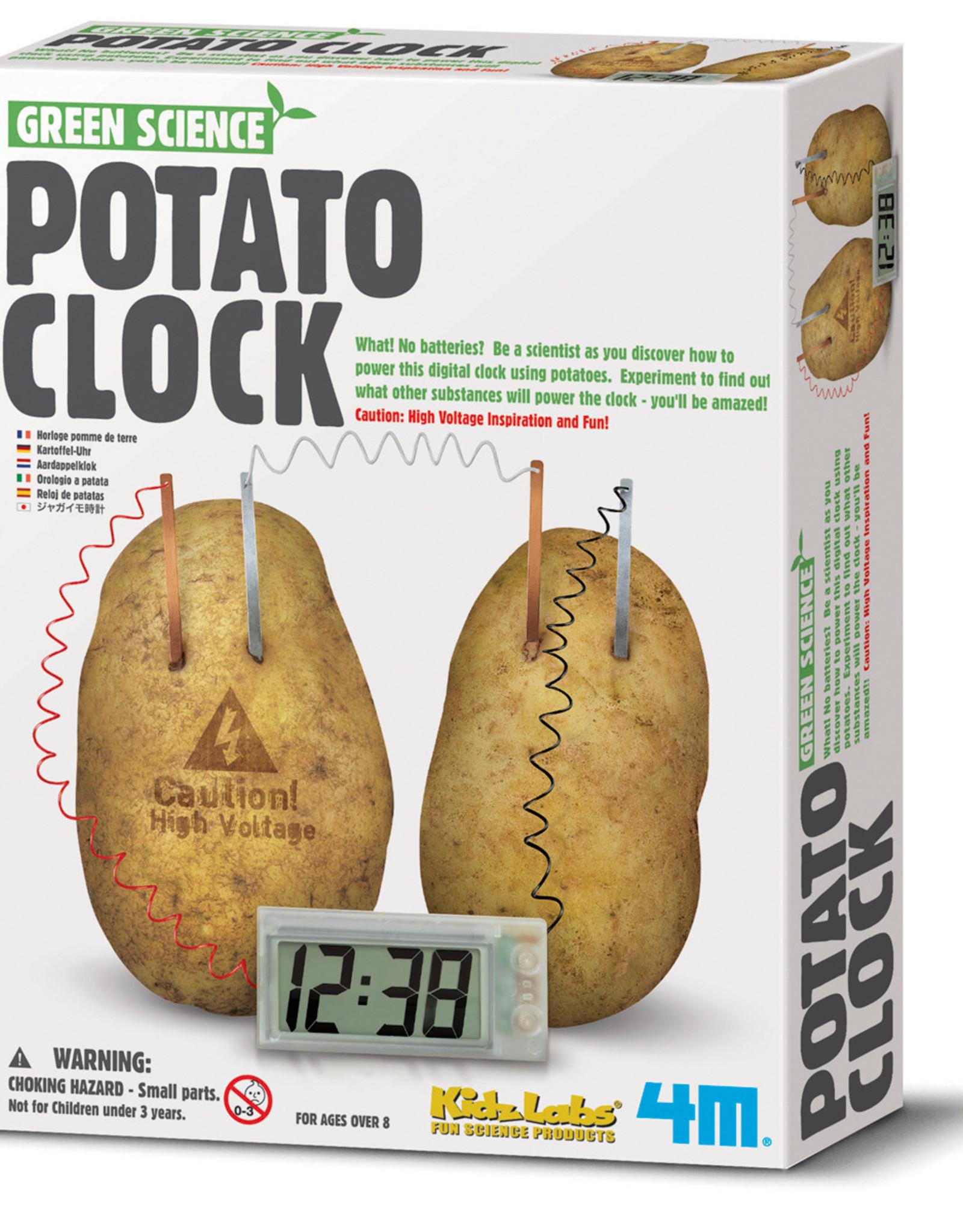 4M Kidzlabs GREEN SCIENCE - POTATO CLOCK