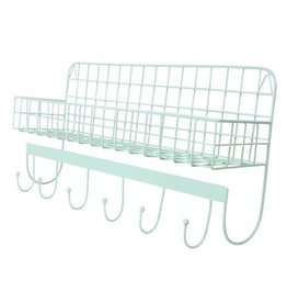 Kidsdepot WIRE - WALLSHELF - MINT