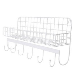 Kidsdepot WIRE - WALLSHELF - WHITE