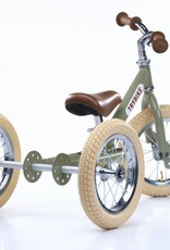 Trybike Trybike - LOOPFIETS- 2-in-1- STEEL - VINTAGE GREEN