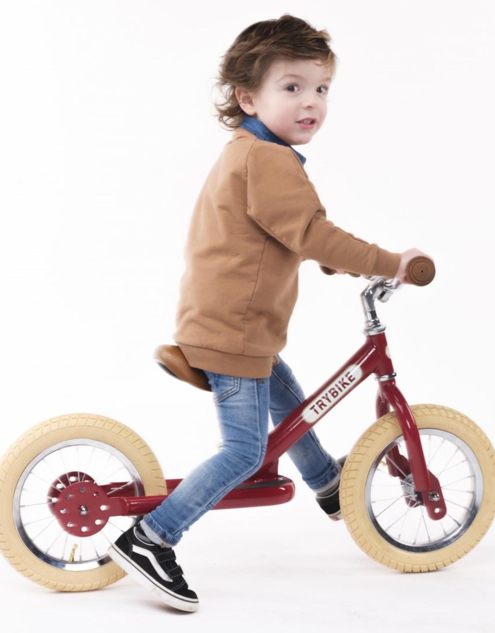 Trybike LOOPFIETS- STEEL - VINTAGE RED