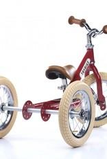 Trybike LOOPFIETS- 2-in-1- STEEL - VINTAGE RED