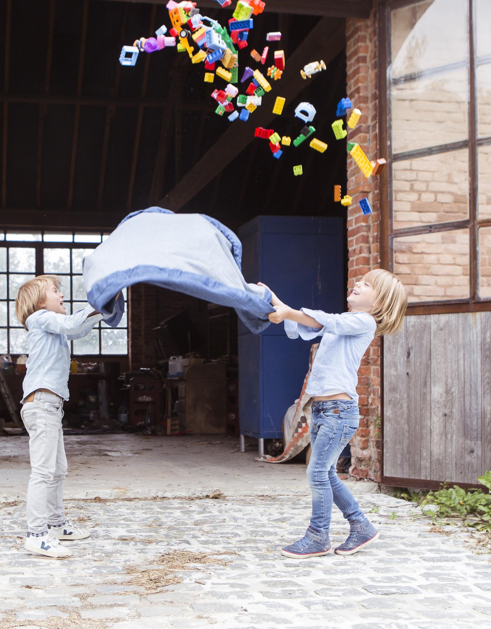 Play & Go OPBERGZAK EN SPEELMAT - JEANS