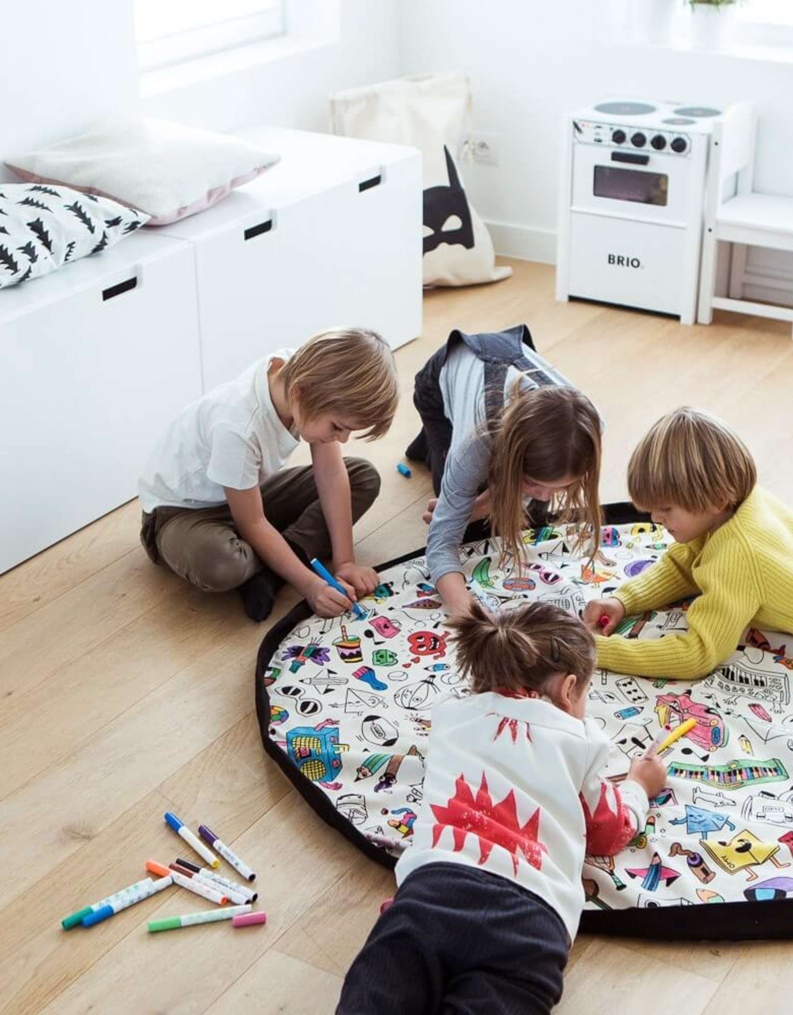 Play & Go Play & Go - OPBERGZAK EN SPEELMAT - COLOR MY BAG