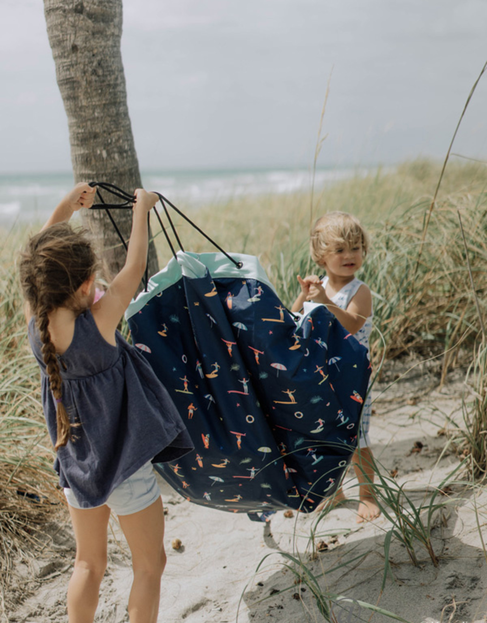 Play & Go Play & Go - OPBERGZAK EN SPEELMAT - OUTDOOR - SURF