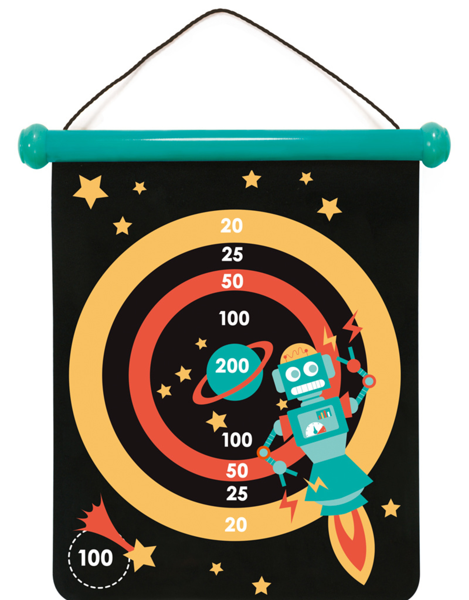 Scratch Europe Scratch Europe - DARTS MAGNETISCH - ROBOTS - MEDIUM