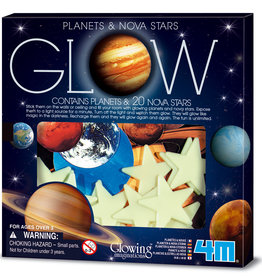 4M GLOW IN THE DARK - PLANETEN & STERREN