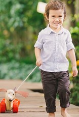 Plan Toys Plan Toys -TREKFIGUUR - HAPPY PUPPY